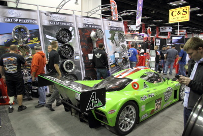 Weld Engineering Wheels booth