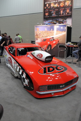 Professional Drag Racers Association booth