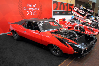 Hall of Champions 2015 vehicles on display