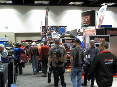 Crowd at PRI Show