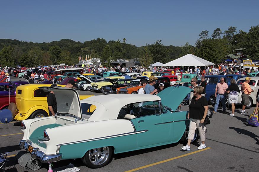 Gatlinburg Car Show In September