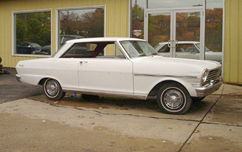 Gerry Kerna's original 1962 Chevy II