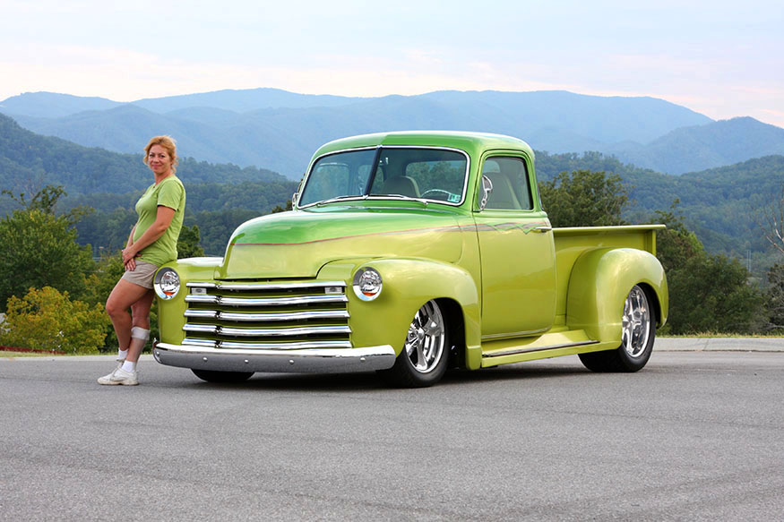 Jessica Kilby S 50 Chevy 5 Window Pickup Images Frompo