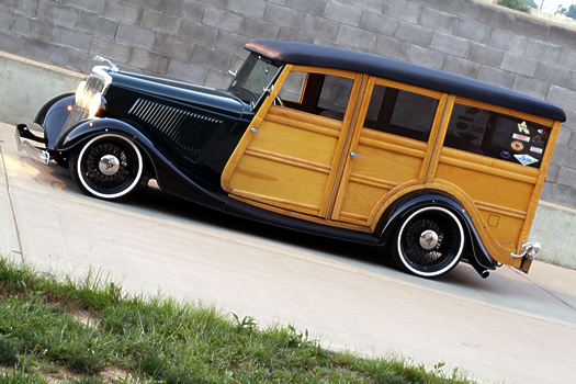 Maggie Anderson's '34 Ford Woodie
