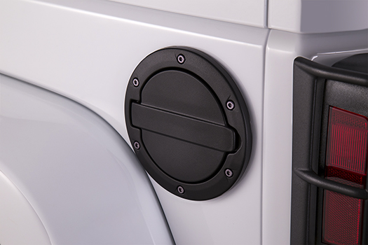 Jeep Wrangler JK Fuel Door