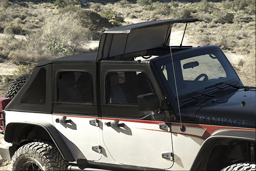 Trailview Soft Top For Jeep Wrangler