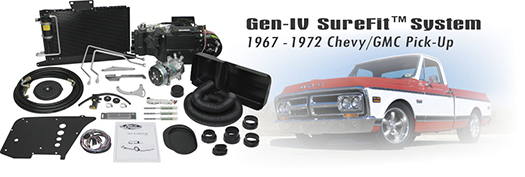 Vintage Air 67-72 Chevy/GMC Pickup Gen IV SureFit