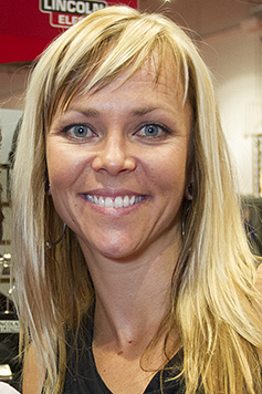 Jessi Combs metal fabricator and TV Personality